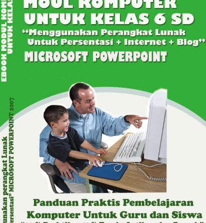 Jual Modul Komputer Untuk Anak Kelas 6 SD