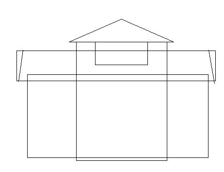 layout membuat disain rumah dengan paint