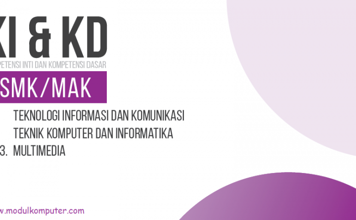 Kompetensi Inti dan Kompetensi Dasar (KI & KD) SMK/MAK Kurikulum 2013 Sesuai SK Nomor 330/D.D5/KEP/KR/2017