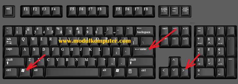 cara mematikan komputer dengan keyboard terbaru