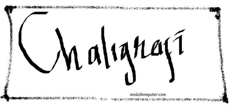 membuat aneka kaligrafi dengan ms paint