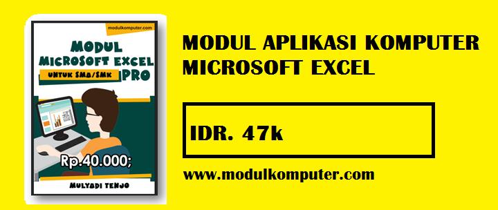 Modul Komputer Microsoft Excel