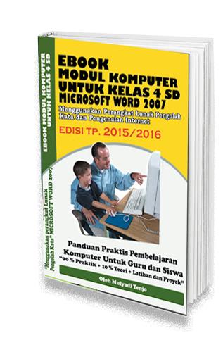 modul microosft word untuk sd