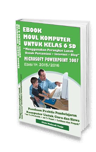 modul komputer microsoft powerpoint kelas 6 sd