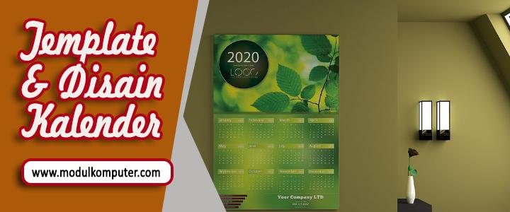 Template dan Disain Kalender Gratis Format PSD