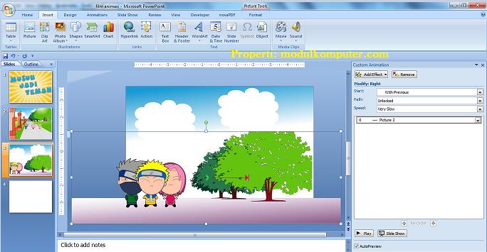cara membuat film animasi untuk anak sd sciene3