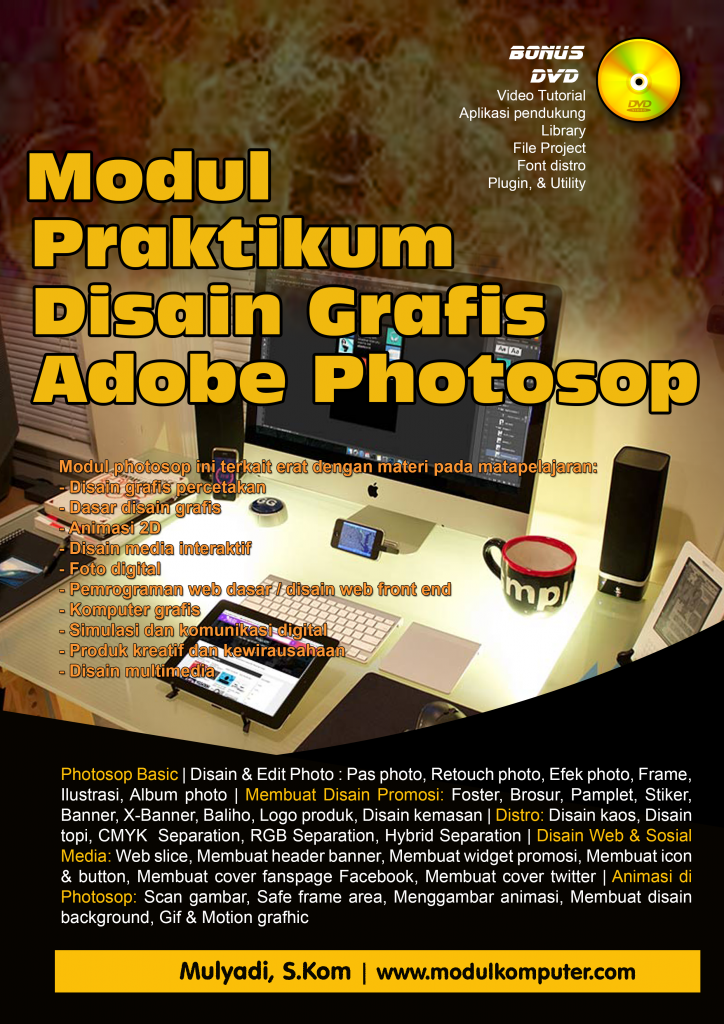 Modul Photosop Buku Photosop Tutorial Photosop