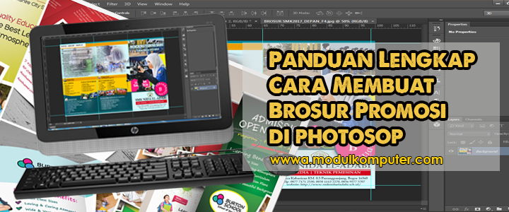 Panduan Cara Membuat Brosur Promosi Menggunakan Photosop