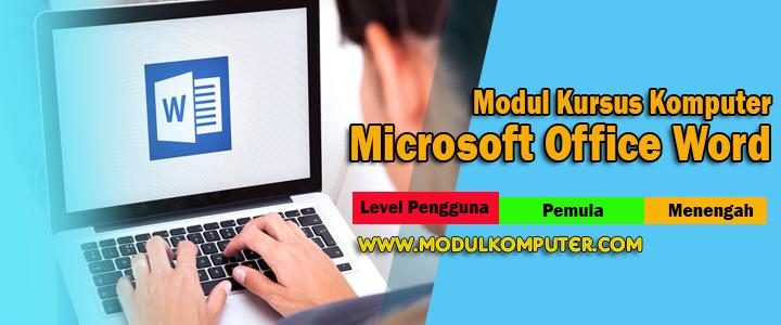 Modul Kursus Komputer Microsoft Office Word